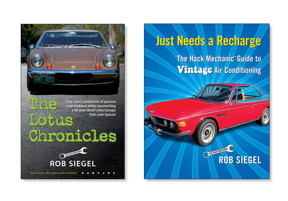 Hack Mechanic books - 1, 2