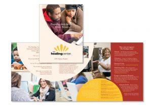 Healing Center - brochure