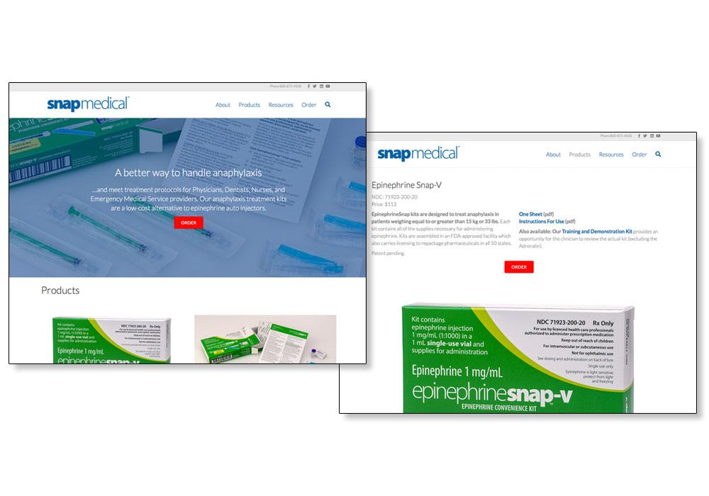 Snap Medical - website