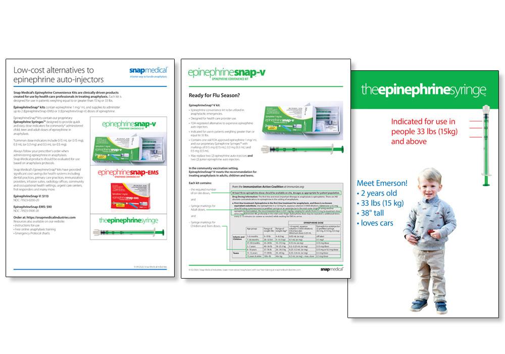 Snap Medical - print pieces