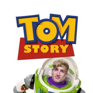 for Tom, a superhero