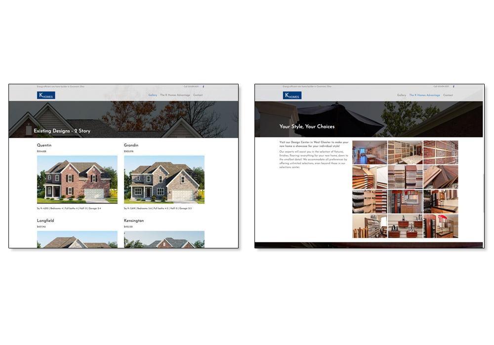 K Homes web 2